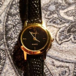 Bienali Diamond Leather Watch